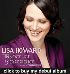 Lisa Howard - Songs of Innocence & Experience - album cover
