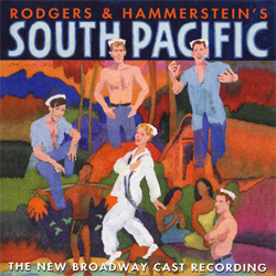Rodgers & Hammerstein's South Pacifc - New Broadway Cast Recording - album cover