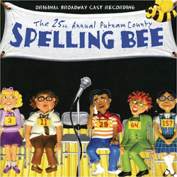 The 25th Annual Putnam County Spelling Bee - Original Broadway Cast Recording - album cover
