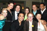 The Cast on Opening Night