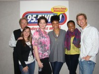 Priscilla Divas on WPLJ 95.5 FM's Scott and Todd's Big Show