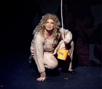Catherine luring Precious into the Well - Silence! the Musical