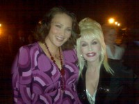 Lisa Howard and Dolly Parton