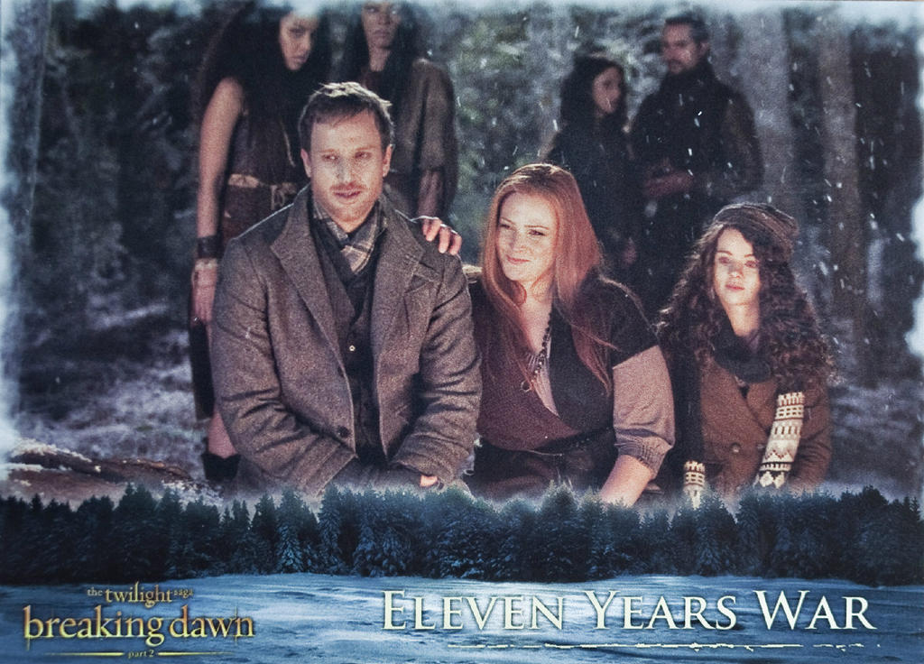 Twilight: Breaking Dawn Part 2 Irish Coven Trading Card