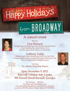 Happy Holidays from Broadway Concert
